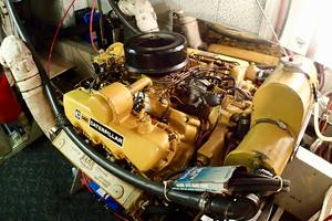 55' American Marine Alaskan 1972 Port engine