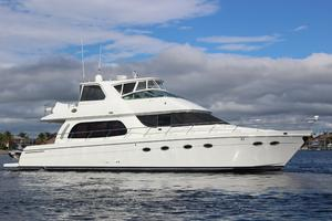 56' Carver Voyager Sky Lounge 2006 Starboard View