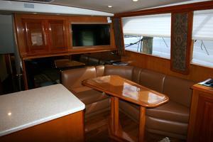 50' Viking Custom 50 Convertible w/Tower 1997 Salon Forward Starboard