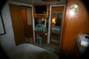 50' Viking Custom 50 Convertible w/Tower 1997 Master Stateroom Forward