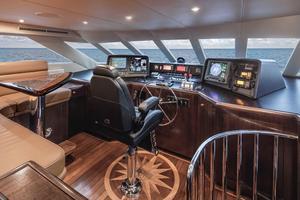 100' Hatteras 100 Motor Yacht 2001 Pilothouse