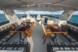 100' Hatteras 100 Motor Yacht 2001 Flybridge