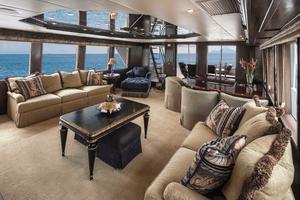 100' Hatteras 100 Motor Yacht 2001 Salon Aft