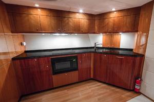 62' Sunseeker Predator 62 2008 Galley