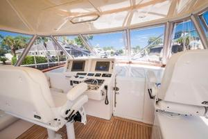 SEA J'S PASSION is a Cabo 45 Express Los Suenos Edition Yacht For Sale in Panama City-Helm-12