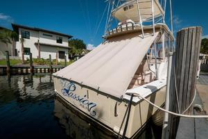 SEA J'S PASSION is a Cabo 45 Express Los Suenos Edition Yacht For Sale in Panama City-Cockpit Cover-19