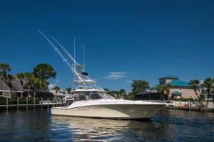 SEA J'S PASSION is a Cabo 45 Express Los Suenos Edition Yacht For Sale in Panama City-Starboard Profile-0