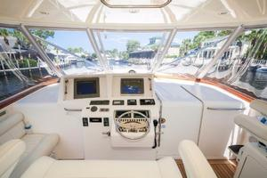 SEA J'S PASSION is a Cabo 45 Express Los Suenos Edition Yacht For Sale in Panama City-Helm-11
