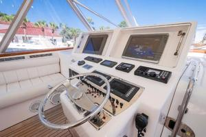 SEA J'S PASSION is a Cabo 45 Express Los Suenos Edition Yacht For Sale in Panama City-Helm-13