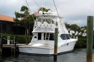 50' Hatteras 50 Convertible SF 2001 Stern