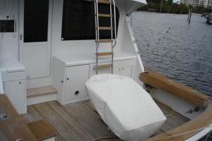 50' Hatteras 50 Convertible Sf 2001 Cockpit