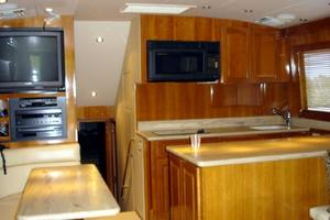 50' Hatteras 50 Convertible Sf 2001 Galley