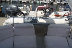 50' Navigator 5000 Classic 1998 Bridge Seating And Dinghy