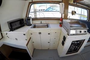50' Custom Carman 50 Seaflex Walkaround 2001 Galley