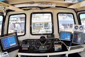 50' Custom Carman 50 Seaflex Walkaround 2001 Helm
