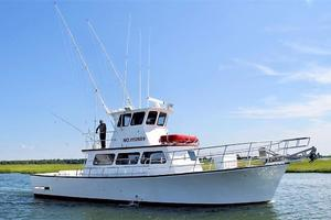 50' Custom Carman 50 Seaflex Walkaround 2001 Profile