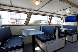 50' Custom Carman 50 Seaflex Walkaround 2001 Dinette