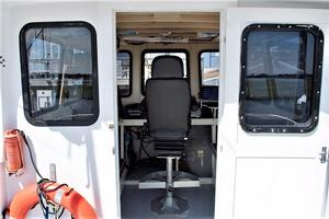 50' Custom Carman 50 Seaflex Walkaround 2001 Wheelhouse