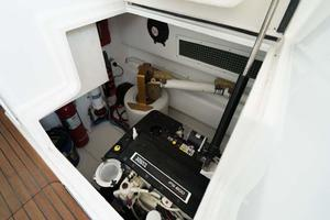 37' Ocean Yachts 37 Billfish 2009 Starboard Engine