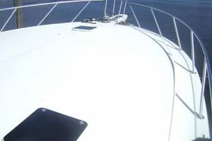 55' Viking 55 Convertible 1998 Foredeck