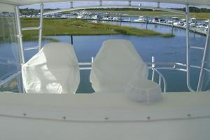 55' Viking 55 Convertible 1998 Bridge Seat Covers
