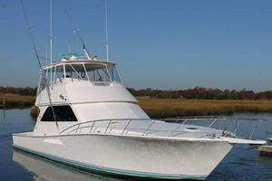 55' Viking 55 Convertible 1998 Starboard Side