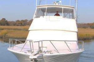 55' Viking 55 Convertible 1998 Bow