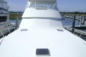 55' Viking 55 Convertible 1998 Foredeck Looking Aft