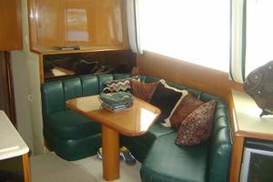 55' Viking 55 Convertible 1998 Dinette