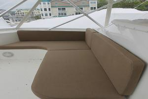 55' Viking 55 Convertible 1998 Bridge Seating