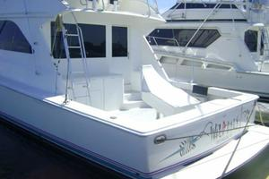 55' Viking 55 Convertible 1998 Swim Platform