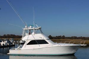 55' Viking 55 Convertible 1998 Starboard