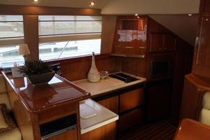 58' Riviera Convertible 2008 Galley