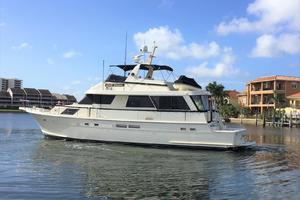 Hatteras-67-Cockpit-Motor-Yacht-1988-Lady-Encore-Saint-Petersburg-Florida-United-States-Side-Profile-926167
