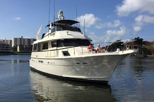 Hatteras-67-Cockpit-Motor-Yacht-1988-Lady-Encore-Saint-Petersburg-Florida-United-States-Bow-Profile-926168
