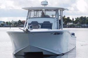 49' Millennia Catamaran Center Console S/F 2009 Bow