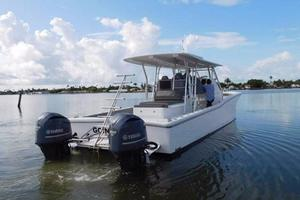 49' Millennia Catamaran Center Console S/f 2009 Starboard Side
