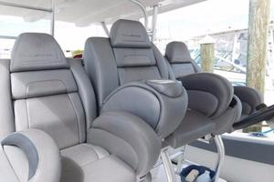 49' Millennia Catamaran Center Console S/F 2009 Helm Seating