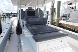49' Millennia Catamaran Center Console S/F 2009 Fish Box with Sun Lounger