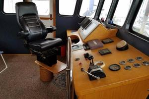 58' Custom North Sea Trawler 1996 Helm