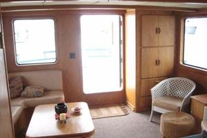 58' Custom North Sea Trawler 1996 Salon