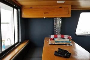58' Custom North Sea Trawler 1996 Pilothouse