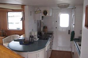 58' Custom North Sea Trawler 1996 Galley