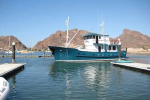58' Custom North Sea Trawler 1996 Portside
