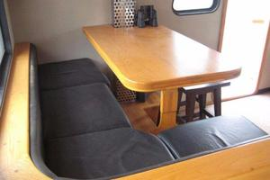 58' Custom North Sea Trawler 1996 Pilothouse Dinette