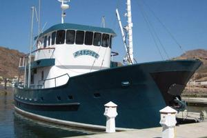 58' Custom North Sea Trawler 1996 Bow