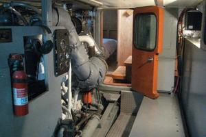 58' Custom North Sea Trawler 1996 Engine Room