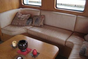58' Custom North Sea Trawler 1996 Settee