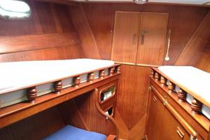 52' Herreshoff Sloop 1979 Forward CAbin