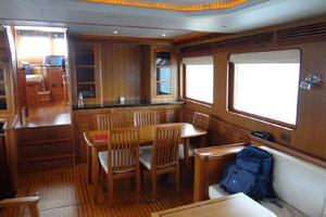 73' Selene 66 Flybridge 2009 Big Interior